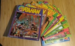 Rahan Lot De 11 Magazines :bimestriel N°6, 8, 10, 11, 12, 19, 20, 23, 24, 31, 33 - Pif - Autres
