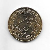 *central African States 25 Francs 1978  Km 10   Bu - Repubblica Centroafricana