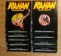 """Rahan """" Intégrale"""" Lot De 9 Magazines N° 2, 3, 4, 5, 6, 8, 9, 15, 34 . N° 34 Avec Images - Pif - Autres"""