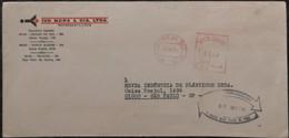 1977 Brasil Caxias Do Sul -  EMA Meter 01,10 - Used Stamp On Cover - Frankeervignetten (Frama)