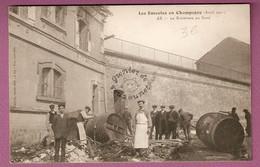 Les Emeutes En Champagne Avril 1911 - Ay Le Boulevard Du Nord  - éditeur Franjou - Ay En Champagne