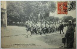 FONTENAY Le COMTE Groupe De Fantassins - Fontenay Le Comte
