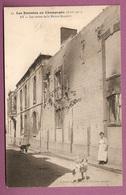 Les Emeutes En Champagne Avril 1911 - Ay  Les Ruines De La Maison Bissinger  - éditeur Franjou N°21 - Ay En Champagne