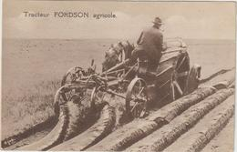 CPA TRACTEUR FORDSON AGRICOLE - Tractores
