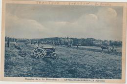 CPA TRACTEUR  ARTIGUES DE BORDEAUX - Tractores