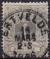N° 43 Oblitération ERTVELDE (tanding Defekt - Dentelure Défect.) - 1869-1888 Lion Couché (Liegender Löwe)
