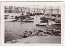 56 QUIBERON **Port-Maria Et Tous Les Sardiniers Août 1930** Photo 9 X 6.5 Cm (2 Scans) - Quiberon