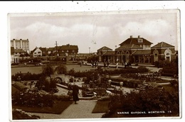 CPA-Carte Postale-Royaume Uni- Worthing- Marine Gardens  VM10278 - Worthing