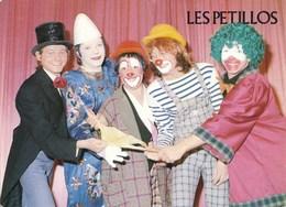 91) Ste-Geneviève Des Bois - Clowns - Les Petillos  - Cirque Music-Hall - Sainte Genevieve Des Bois