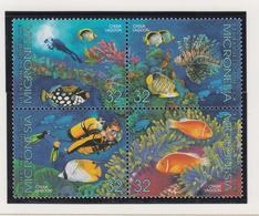 Micronesië Jaar 1995 Michel-nr 402/405 Blok Van 4  **/MNH - Mikronesien