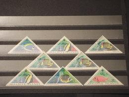 MALDIVES - 1962 PESCI 8 VALORI - NUOVI(++) - Maldives (1965-...)