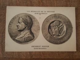 Les Médailles De La Monnaie, Série Historique - Président Hoover (Anie Mouroux), Herbert, Elu Le 6 Novembre 1928 - Coins (pictures)