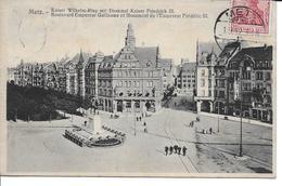MOSELLE-METZ Boulevard Empereur Guillaume....MI - Metz