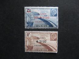 REUNION:  TB Paire N° 249 Et N° 250 , Neufs XX . - Réunion (1852-1975)
