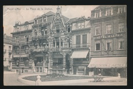 HEIST  LA PLACE DE LA STATION - Heist