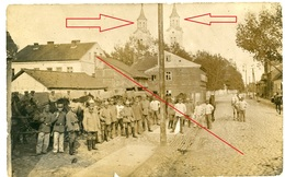 21.Armeecorps-Sept.1915 / Kirche /  Wilna Kowno Njemen Wejwery   /allemande Carte Photo -1914-1918 WWI - War 1914-18