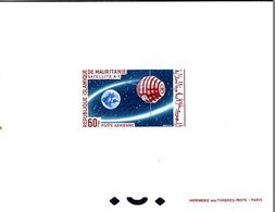 Mauritanie A 049 Epreuve De Luxe Satellite A-1 - Espace