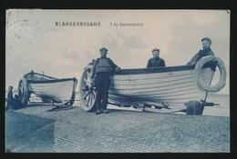 BLANKENBERGE   LES SAUVETEURS - Blankenberge