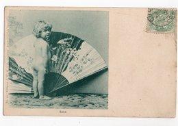 EVENTAIL * BEBE NU * OISEAU * FLEUR* Carte N°45 * édit. J.W.H. à B. Caprice - Tarjetas De Fantasía