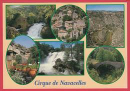 CP- Le CIRQUE De NAVACELLES -Multivues - Vue Aérienne *SUP* 2 SCAN- - Frankrijk