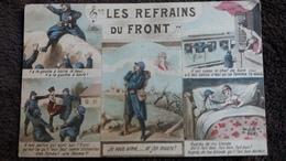 CPA LES REFRAINS DU FRONT POILU GUERRE 14  JK 2091 - War 1914-18