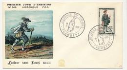 FRANCE - Enveloppe FDC - Journée Du Timbre 1961 (Petite Poste De Paris 1760) - CHAMBERY 10.3.1961 - FDC