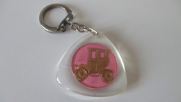 Porte Clé Ancien Station Mobil Neuville Saint Rémy Cambrai - Key-rings