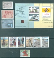 ALAND - 1993 - MNH/*** LUXE  - YEAR COMPLETE COSTUME - Yv 65-78 - Lot 20779 - Aland