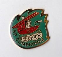 PIN S SAPEURS POMPIERS COMBRONDE - Bomberos