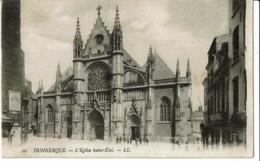 Dunkerkque  10 L'eglise  Saint Eloi - Dunkerque