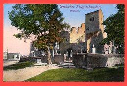 57. Dalhain ( Dalheim). Ruines De L'église Et Du Cimetière. Feldpostkarte. Feldpoststation Nr 124. Août 1916 - Altri Comuni