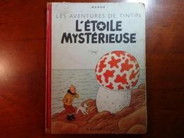 TINTIN : L'ETOILE MYSTERIEUSE : Edit. Orig. 1952 - Hergé
