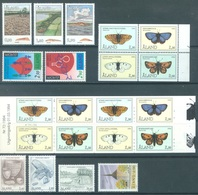 ALAND - 1994 - MNH/*** LUXE  - YEAR COMPLETE BUTTERFLIES EUROPA - Yv 79-91 WITH BOOKLET - Lot 20780 - Aland