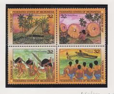 Micronesië Jaar 1996 Michel-nr 460/463 Blok Van 4 **/MNH - Mikronesien
