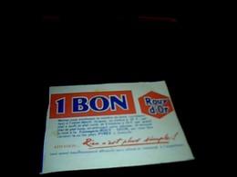 Vieux Papier Publicité 1bon D Achat Biscuits ROUY D OR - Advertising