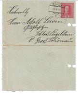 1549f: Seltener Heimatbeleg Kartenbrief Weitra 28.IX.1917, Nach Groß Schönau Gelaufen - Weitra
