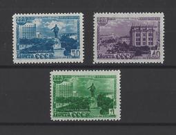 RUSSIE.  YT  N° 1292/1294  Neuf **  1948 - 1923-1991 URSS
