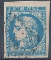 N°45 BORDEAUX AMBULANT. - 1870 Emissione Di Bordeaux