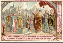 Chromo LIEBIG  LE PAPE ALEXANDRE III - Liebig