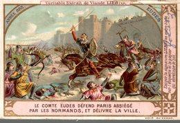 Chromos > Liebig - EXTRAIT De VIANDE LIEBIG - Année 885 Le Comte EUDES Défend Paris Assiègé - Liebig