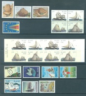 ALAND - 1995 - MNH/*** LUXE  - YEAR COMPLETE SAILBOAT EUROPA - Yv 92-106 WITH BOOKLET - Lot 20781 - Aland