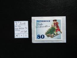 """2019  """" Frohe Weihnachten """" Marke Aus Rolle Mit Nummer,  Postfrisch   LOT 1138 - 2011-... Ungebraucht"""