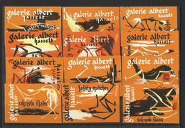 GALERIE ALBERT - Lot Of 12 Matchbox LABELS (see Sales Conditions) S/0101 - Cajas De Cerillas - Etiquetas