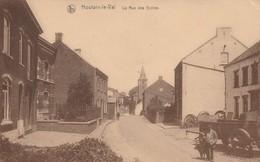 Houtain-le-Val , La Rue Des écoles - Genappe