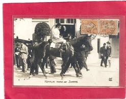 KEFALIN Monte Par SHARPE  .  CARTE-PHOTO AFFR SUR RECTO LE 2-5-1924 - Horse Show