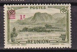 REUNION - 1 F. Sur 65 C. Neuf Avec Surcharge Déplacée TTB - Réunion (1852-1975)