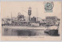 DUNKERQUE (59 Nord) - Drague à Godet Et Bateau-feu - BF 86 - Dunkerque