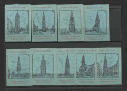 BELGIUM - Lot Of 9 Matchbox LABELS (see Sales Conditions) S/0104 - Cajas De Cerillas - Etiquetas