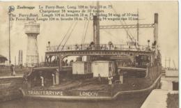 Zeebrugge - Le Ferry-Boat - Trainferry No 2 - Zeebrugge