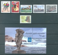 ALAND - 1997 - MNH/*** LUXE  - YEAR NOT COMPLETE - Yv 127-133 - Lot 20783 - Aland